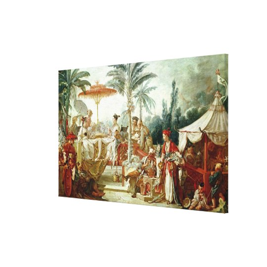 Feast of the Chinese Emperor Canvas Print
