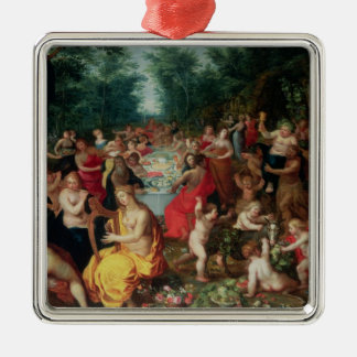 Feast of the Gods Metal Ornament