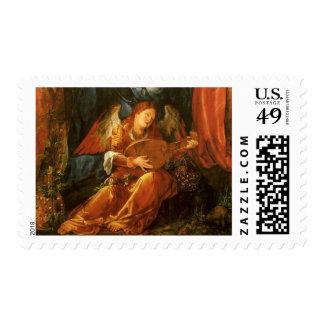 Feast of the Rose Garlands, Angel Albrecht Durer Postage