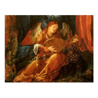 Feast of the Rose Garlands, Angel Albrecht Durer Postcard