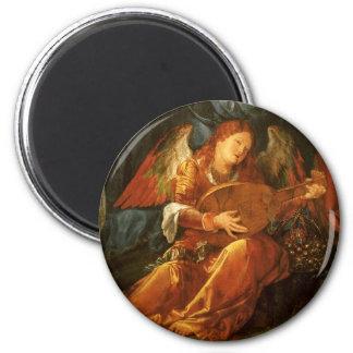 Feast of the Rose Garlands Angel by Albrecht Durer Magnet
