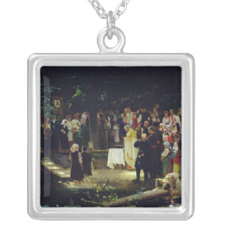 Feast of the Transfiguration of Our Lord Silver Plated Necklace