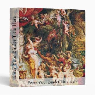 Feast Of Venus By Rubens Peter Paul (Best Quality) 3 Ring Binders