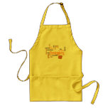 Feast of Words Apron