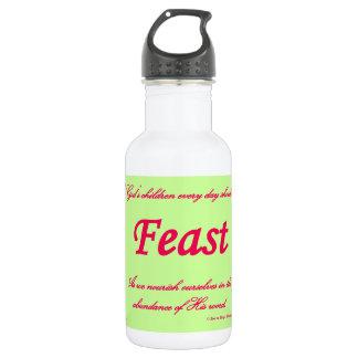 feast stainless steel water bottle