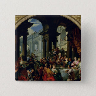 Feast under an Ionic Portico, c.1720-25 Button