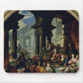 Feast under an Ionic Portico, c.1720-25 Mouse Pad