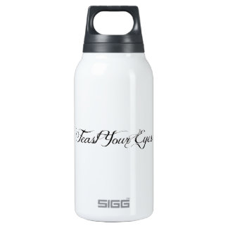 Feast Your Eyes Insulated Water Bottle