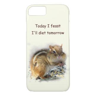 Feasting Chipmunk Dieting iPhone 7 Case
