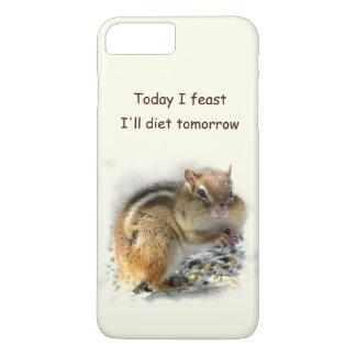 Feasting Chipmunk Dieting iPhone 7 Plus Case