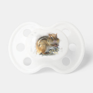 Feasting Chipmunk Pacifier