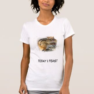 Feasting Chipmunk T-Shirt
