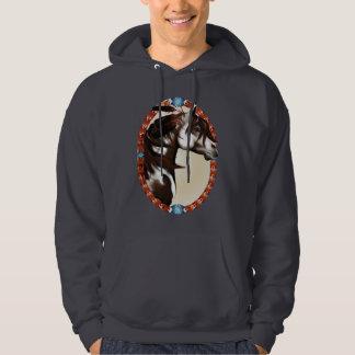 FeatheFeathered Paint Horse Oval Shirts