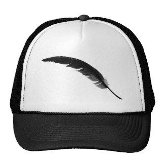 feather3 trucker hat