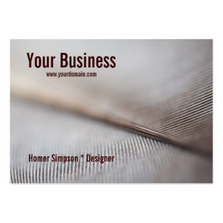 Feather Abstract Business Card