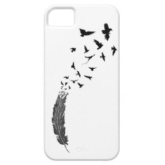 Feather & Birds Tattoo Inspired iPhone6 Case