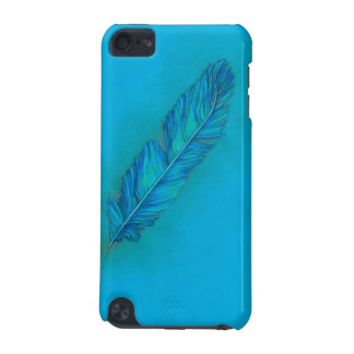 Feather Blues iPod Touch (5th Generation) Case