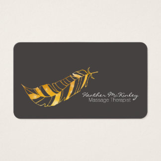 Feather Business Card | Choose Your Background