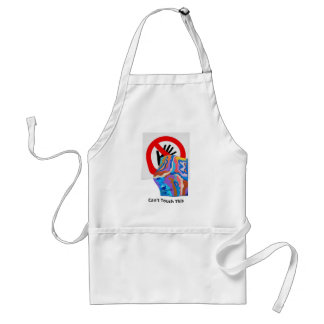 Feather Can't Touch This Adult Apron