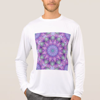 Feather Dance, Abstract Purple Orchid Lavender T-Shirt
