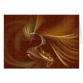 Feather Dancer Greeting Card