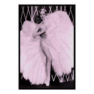 Feather Dancer Sally Rand Poster