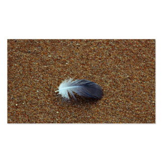 Feather Double-Sided Standard Business Cards (Pack Of 100)