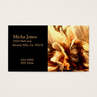 Feather Duster Close Up Business Card