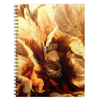 Feather Duster Close Up Notebook