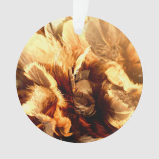 Feather Duster Close Up Ornament