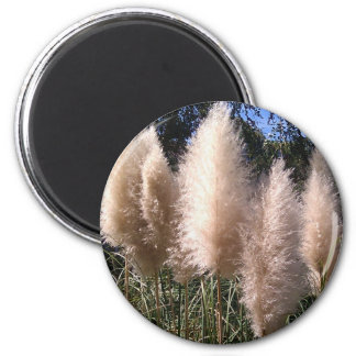 Feather Dusters 2 Inch Round Magnet
