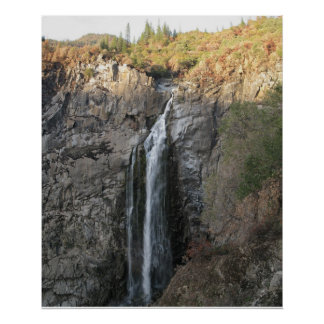 Feather Falls, CA Poster