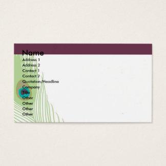 Feather Fantasy Profile Card