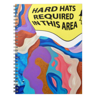 Feather Hard Hat Notebook