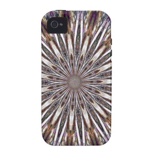 Feather Kaleidoscope Case For The iPhone 4