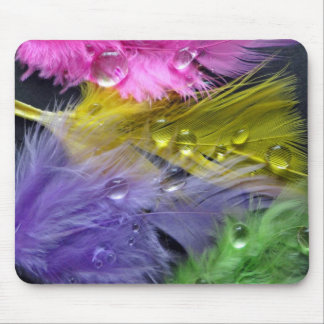 Feather mousemat