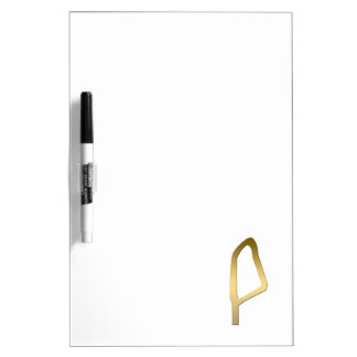 Feather of Maat Egyptian symbol Dry Erase Board