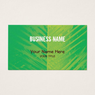 feather palm2 ~ bc business card