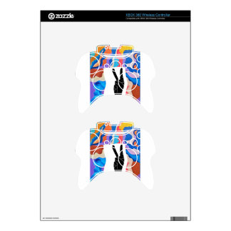 Feather Peace Xbox 360 Controller Decal