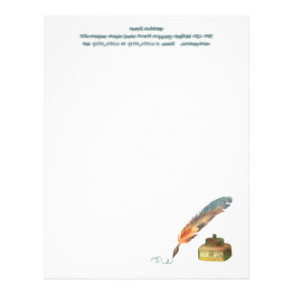 Feather Pen - TBA Winner Personalized Letterhead