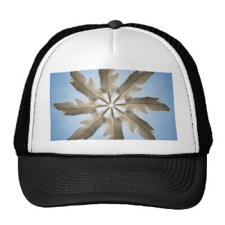 Feather Ring Trucker Hat