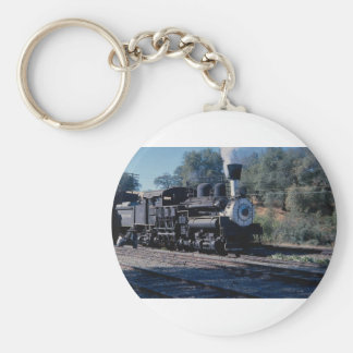 Feather River Ry, Shay locomotive Key Chains