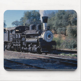 Feather River Ry, Shay locomotive Mouse Pad