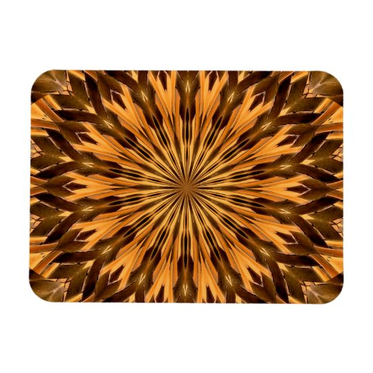 Feather Shield Medallion 3x4 Magnet