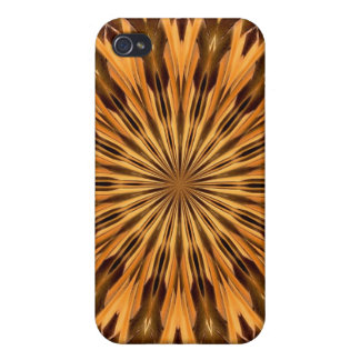 Feather Shield Medallion Case For iPhone 4