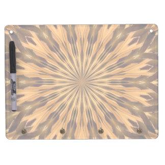 Feather Shield Medallion Horiz Dry Erase Boards