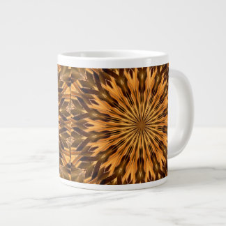 Feather Shield Medallion Jumbo Mug