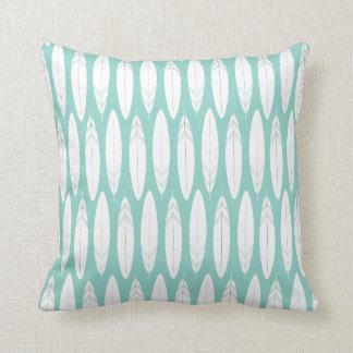 Feather Sketch Throw Pillow