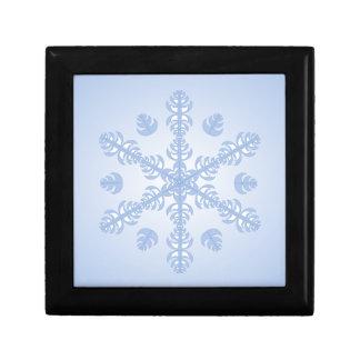 Feather Snowflake Trinket Box