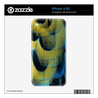 Feather surface 4 iPhone 4S decal